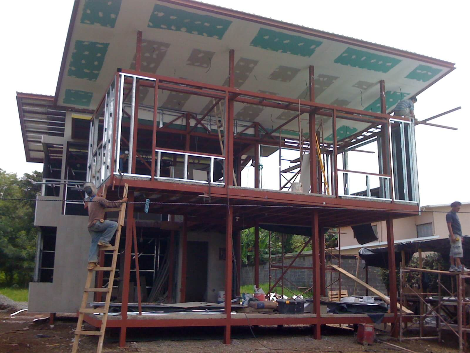 Exterior Drywall
