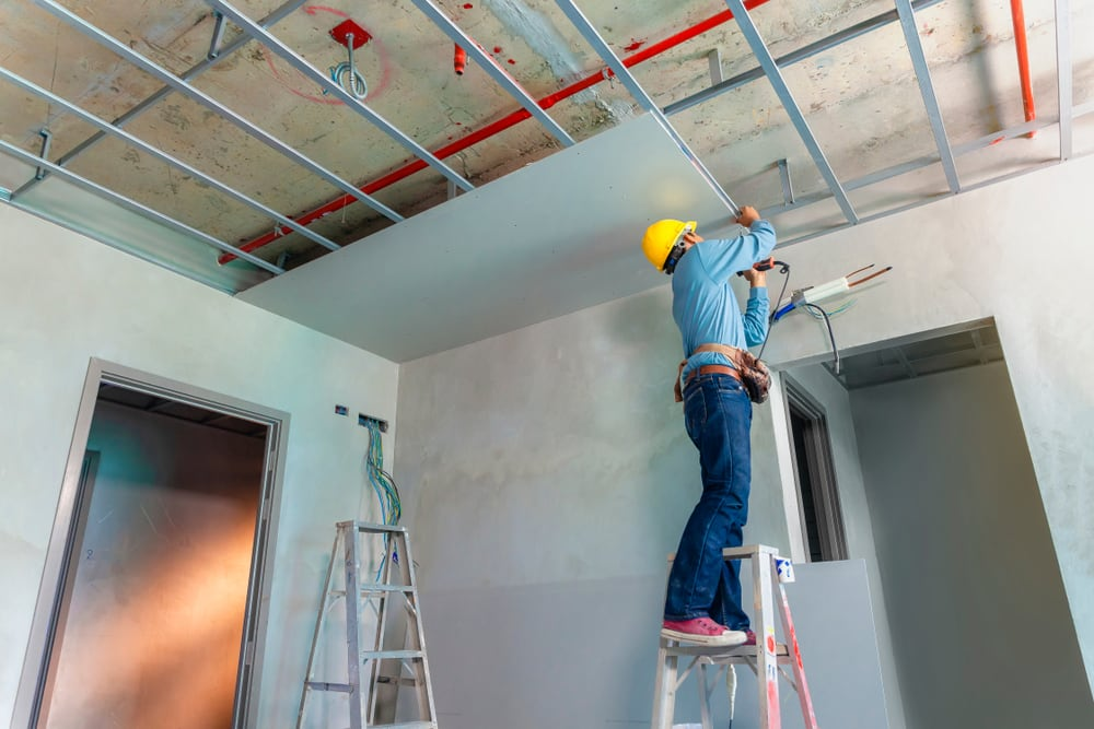 Suspend Ceilings Vs Drywall For The Basement Bernardi